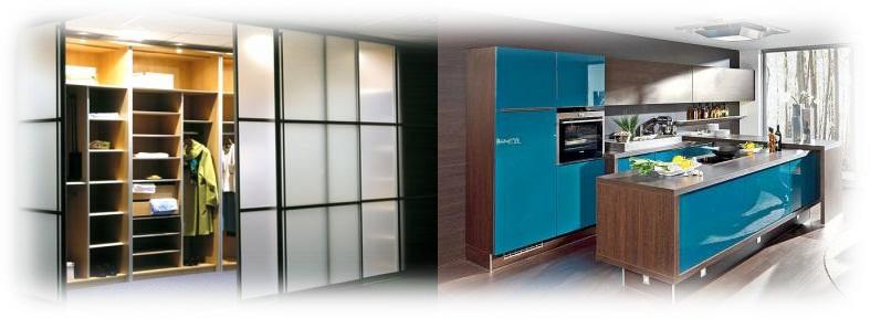 Кухни шкаф купе